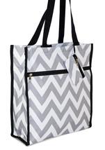 Chevron Womens Small Tote Bag Handbag Purse for Travel Work School Shopping - $13.85