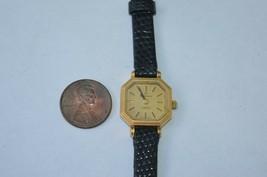 Vintage RODANIA womens Quartz watch w/Lizard 8R Band Petite Thin watch - $23.33