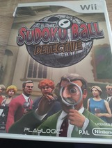 Nintendo Wii~PAL REGION Sudoku Ball Detective image 1