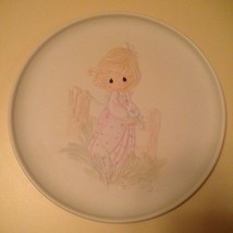 1984 Precious Moments Four Seasons Series The Voice of Spring Collector's Plate  - $18.99