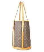 Authentic LOUIS VUITTON Bucket Bag GM Monogram Shoulder Bag Purse #33069 - $359.00