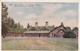 Van Briggle Pottery Colorado Springs CO Postcard C18 - $8.99