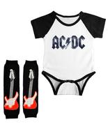 AC/DC Onesie Infant Bodysuit  Shower Gift Leggings Set - $17.00+