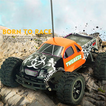 1/18 2.4GHz Remote Control RC Car Truck High Speed Off-road Racing Kids Toy - $8.46