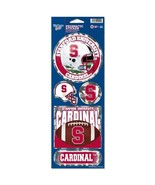 NCAA Stanford Cardinal Prismatic Stickers, Team Color, One Size - $6.64