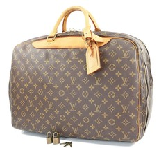 Auth LOUIS VUITTON Alize 2 Poches Monogram Suitcase Travel Bag Luggage #... - $569.00