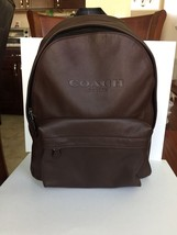 NWT Coach Charles Backpack In Soft Sport Calf Leather MAHOGANI F54786 MS... - $209.99