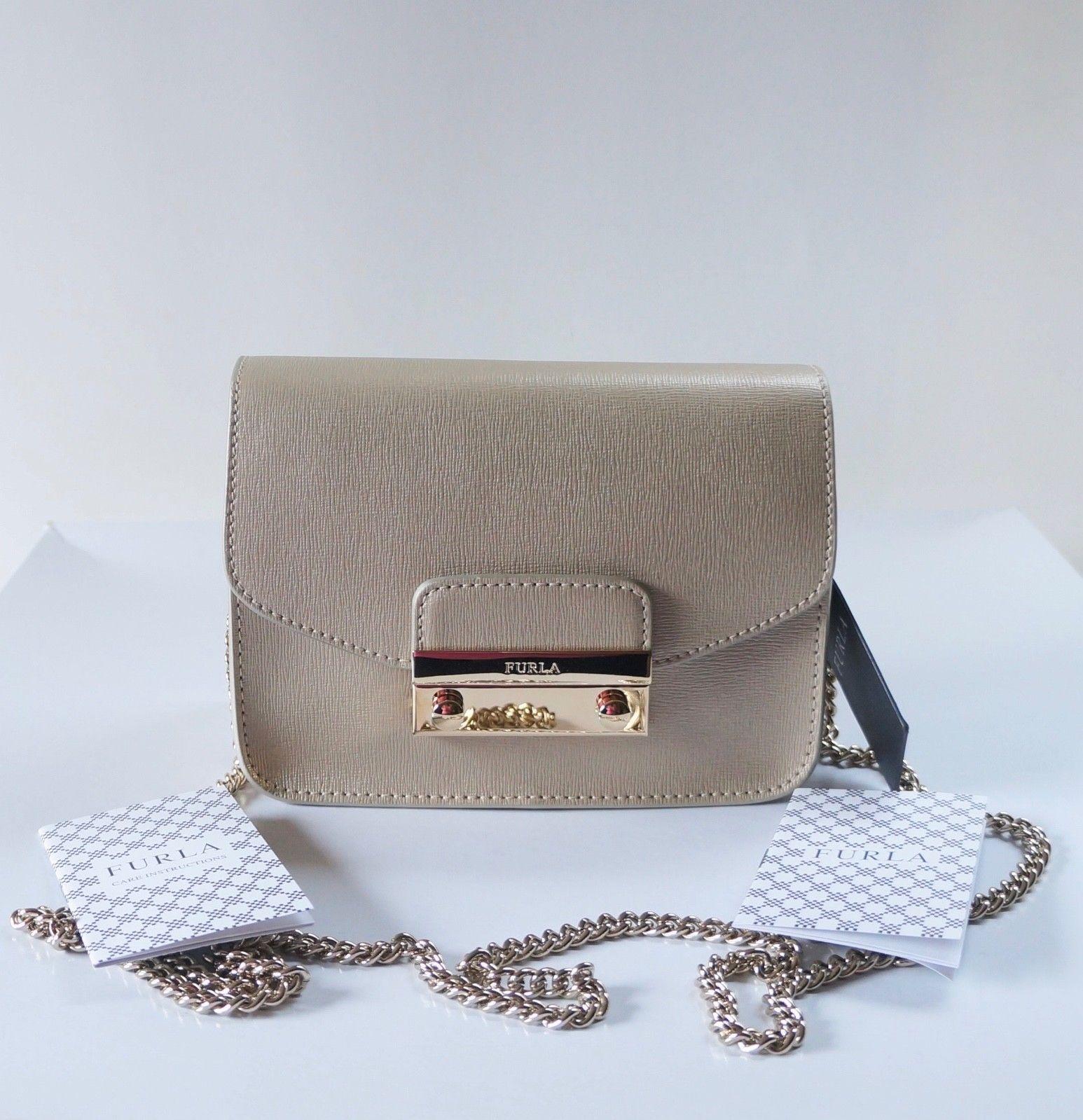 b8388ecfd7d88 Nwt Furla Saffiano Leather Julia Mini and 50 similar items