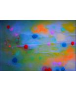 Meditation Art, Peace Art, Yoga Art - Thought Energy - Quality A3 Print - $50.00