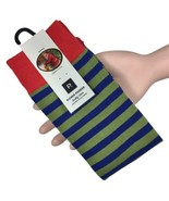 Mens Christmas Combed Cotton RICHER POORER California Striped Crew Socks... - $32.68