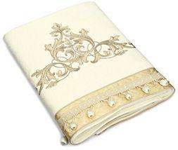 Avanti Linens Monaco Hand Towel 100% Cotton Towel, Ivory Guest Towel - $23.75