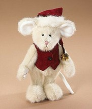 "Boyds Bears ""Jolly Mousekins"" 7"" PLUSH Mouse- #562960 -New - 1998- Retired - $29.99"