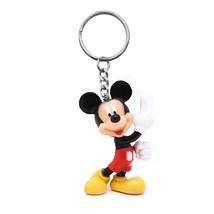 Disney Mickey Mouse Plastic Keychain Black - $7.98