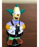 2002 The Simpsons Krusty The Clown Replacement Chess Piece Figurine Blac... - $8.59