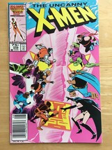 Uncanny X-Men 208 NM Condition 1986 Marvel Comic Book Hellfire Club - $4.49