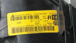 09-12 VW Volkswagen CC Xenon HID AFS Headlight Head Lights Matching Set L&R  image 11