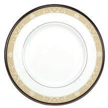 "Royal Doulton Abbey Hall Salad Dessert Plate 8"" Champagne Band Made in U... - $19.90"