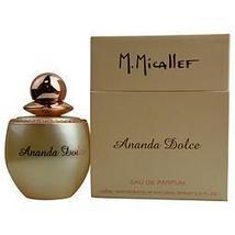 M. Micallef Paris Ananda Dolce By Parfums M Micallef Eau De Parfum Spray 3.3 Oz - $88.43+
