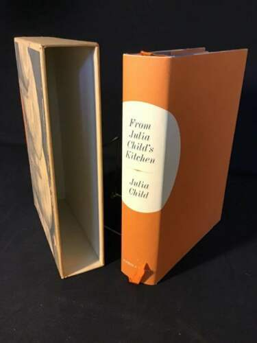 From Julia Child's Kitchen 1975 First Edition Signed Numbered Child Slip Case DJ