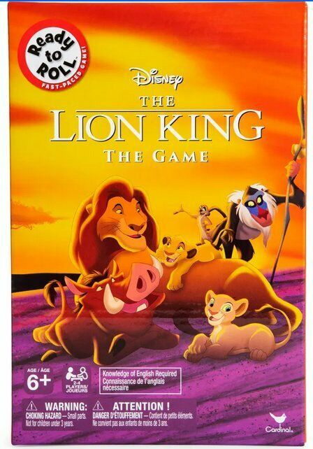 Primary image for NEW SEALED Disney Lion King The Game by Spinmaster Cardinal