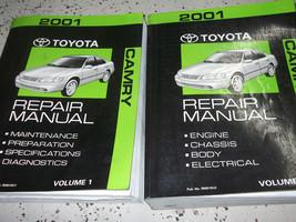2001 Toyota Camry Service Shop Repair Workshop Manual Set Factory New - $257.35