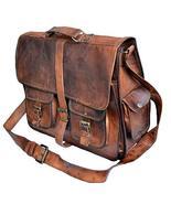 """Jaald Mens Genuine Leather Large Laptop Bag Messanger Bag for Upto 15.6""""... - $67.32"""
