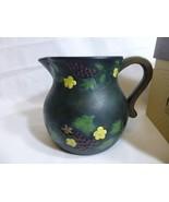 Lang Melting Pot Creamer Very Fine Grapevine 2003 by Susan Winget 0618003 - $15.83