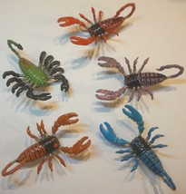 SCORPION FRIDGE MAGNETS 3D WIGGLY REALISTIC COLOURFUL SHOPPING LIST/MEMO... - $3.58