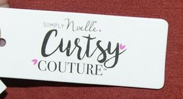 Simply Noelle Curtsy Couture Girls Cutout Long Sleeve Shirt Paprika Size 2T image 7