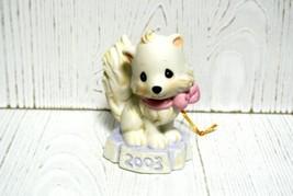 "Precious Moments Ornament 112876 ""Bright Eyed & Bushy Tailed""  2003 - $14.70"