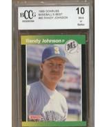 RANDY JOHNSON 1989 DONRUSS R/C  #80 SEATTLE MARINERS  bCCg MINT10 - $6.50