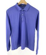 Ralph Lauren Polo Shirt Mens XL Blue Purple Long Sleeve Athletic Collare... - $19.80