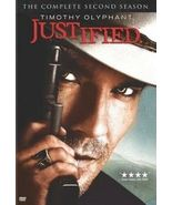 Justified: The Complete Second Season (DVD, 2011, 3-Disc Set) - $11.95