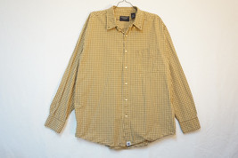 American Eagle Midweight Cotton Button-Front Shirt, Men's Large 8577 - $10.42