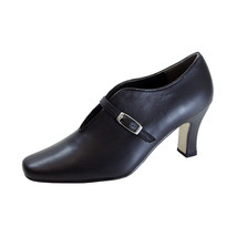 PEERAGE Jude Women Wide Width Comfort Closed Toe Leather Pumps - $44.95