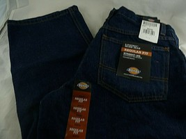Dickies 5 Pocket Relgular Fit Work Jean Straight leg over boot 30X30 New... - $13.85