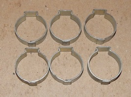 "7/8"" Hose Pinch Clamps Single Ear 6ea Tubing Dixon Keystone Zinc Steel U... - $6.49"