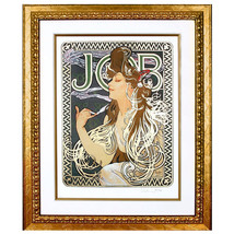 """JOB"" by ALPHONSE MUCHA, Print Signed and Numbered - $3,564.00"