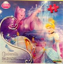 Disney Princess Magic Motion 63 piece Puzzle- Cinderella - $13.99