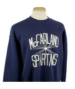 Vintage Russell Athletic McFarland Spartans XXL Sweatshirt Blue 50/50 Ju... - $25.90
