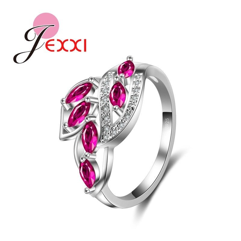 Primary image for 2020 New Arrival 925 Sterling Silver Fashion Rings Women Girl Charm Wedding Aess