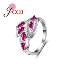 2020 New Arrival 925 Sterling Silver Fashion Rings Women Girl Charm Wedd... - $9.19