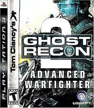 Tom Clancy's Ghost Recon: Advanced Warfighter 2 (Sony PlayStation 3, 2007)M - $4.51