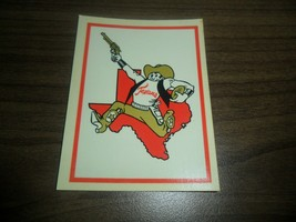 1960 Fleer Football ~ Dallas Texans ~ Water Decal by Palm Brothers - $34.65