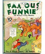 Famous Funnies #23 1936- Buck Rogers- Early Comic- Alley Oop F/G - $98.36