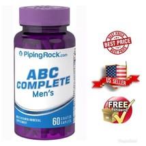 ABC Complete Men's  Supplement Vitamins - 60 Coated Caplets - $7.21
