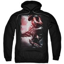 Power Rangers - Red Zord Poster Adult Pull Over Hoodie Officially Licensed Appar - $34.99+