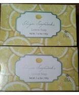 Lemon Soap 2 bars NIP NEW Shugar Soapworks - $8.00