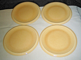 "4 FRANCISCAN SEA SCULPTURES sand Bread Butter Plates Primary 6 3/4"" Pris... - $81.99"