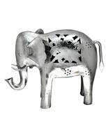 Handicraft Handmade Iron Antique Elephant T-light (Small) for Home Decor... - $42.99